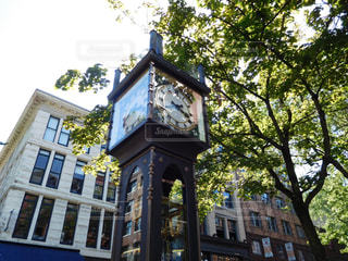 市の塔の時計の写真・画像素材[707972]