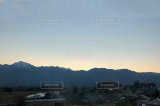 山のビューの写真・画像素材[1003021]