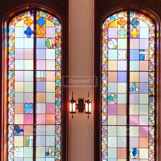 ステンドグラスの写真・画像素材[1551540]