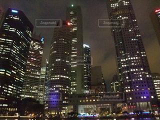 夜景の写真・画像素材[649774]