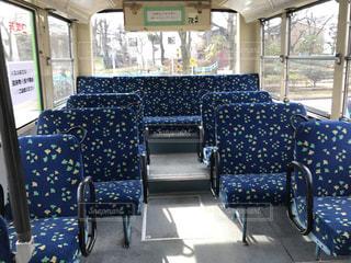 バスの車内の写真・画像素材[1001662]