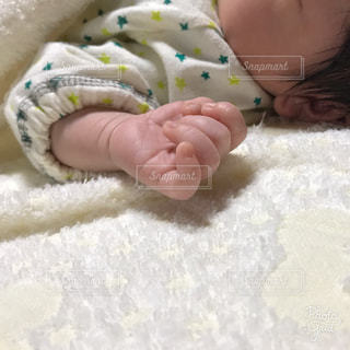 赤ちゃんの手の写真・画像素材[1376019]