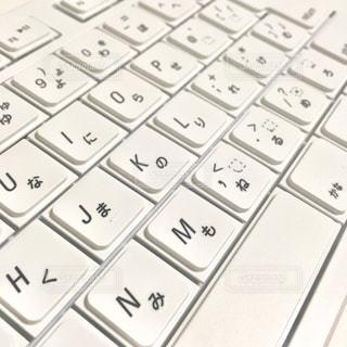 白いキーボード - No.1072767