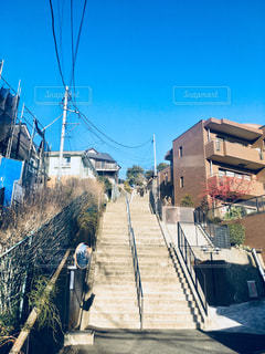 長い階段の風景 - No.1079725