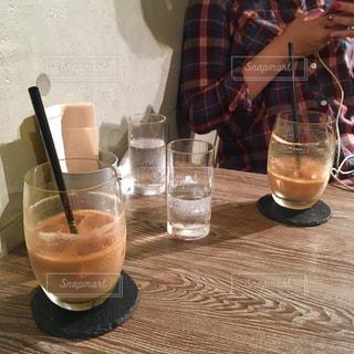 デートでカフェ休憩の写真・画像素材[1099372]