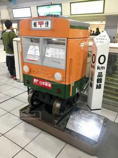 品川駅のポストの写真・画像素材[1135964]