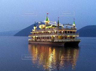 洞爺湖 遊覧船の写真・画像素材[435004]