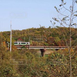 秋の鉄道の写真・画像素材[1558712]