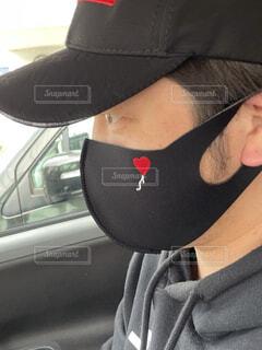 このマスク好きの写真・画像素材[4388931]