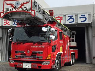 #消防車の写真・画像素材[368690]