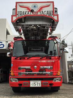 #消防車の写真・画像素材[368691]