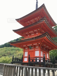 大きな赤い橋の写真・画像素材[2762939]