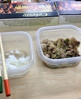 食品のプラスチック容器の写真・画像素材[2764026]