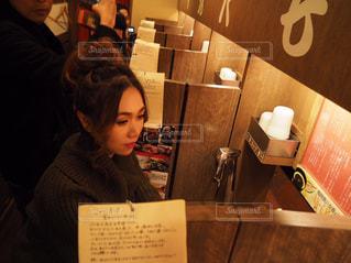 ラーメン ramen ラーメン屋さん 一蘭の写真・画像素材[360211]