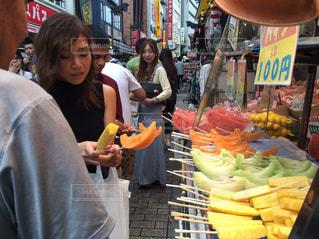 果物 上野 fruitsの写真・画像素材[360230]
