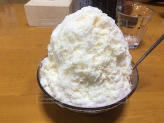 フワフワかき氷の写真・画像素材[812710]