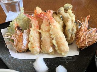天ぷら定食の写真・画像素材[812716]