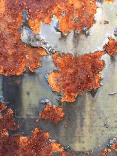 壁 かべ サビ 錆びの写真・画像素材[346668]