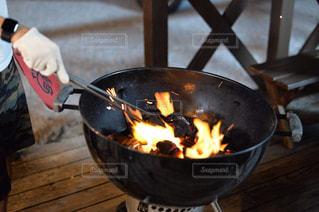 BBQの準備の写真・画像素材[2425421]