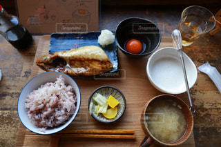 朝食風景の写真・画像素材[2302480]