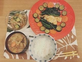 今日の夕飯の写真・画像素材[2785892]