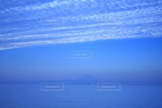鏡ヶ浦の富士の写真・画像素材[1081012]