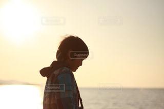 海辺での写真・画像素材[1081157]