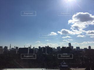 都会の空の写真・画像素材[348102]