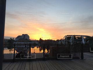 夕日の写真・画像素材[350988]