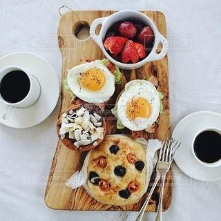 朝食の写真・画像素材[8019]