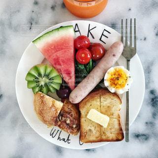 朝食の写真・画像素材[584187]