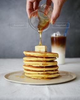 パンケーキたらりんの写真・画像素材[2502651]