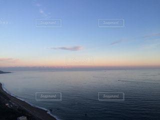 SUN RISE 朝焼けの海の写真・画像素材[357299]