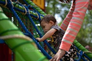 公園 遊具 子供 幼児の写真・画像素材[353705]