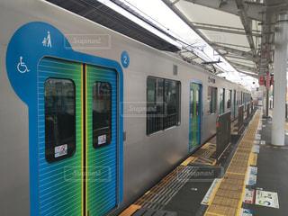 新型電車の写真・画像素材[858936]
