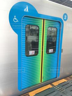 新型電車の写真・画像素材[858937]