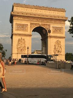 凱旋門の写真・画像素材[1460350]
