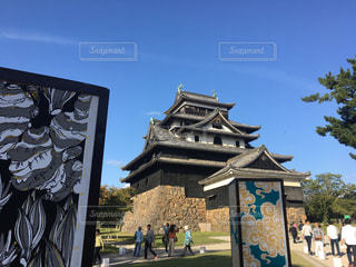 松江城の写真・画像素材[1564624]