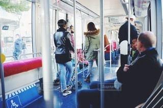 フランス 路面電車の写真・画像素材[9661]