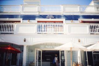 海辺のカフェの写真・画像素材[1057563]