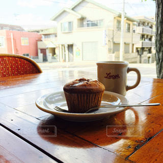 カフェの写真・画像素材[449055]