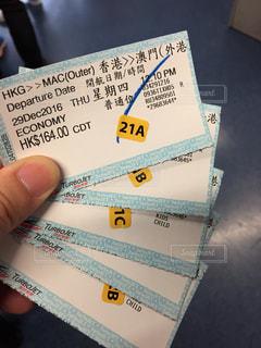 チケットの写真・画像素材[359436]