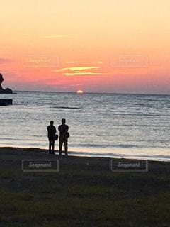 夕日の写真・画像素材[351880]