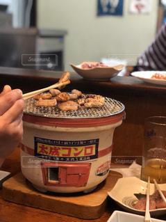 炭火焼は美味いの写真・画像素材[1093314]