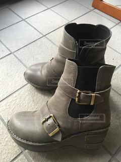 ♯革靴 ♯ショートブーツ ♯お気に入りの写真・画像素材[353717]