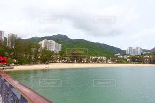 香港のディスカバリー・ベイのビーチの写真・画像素材[1145577]