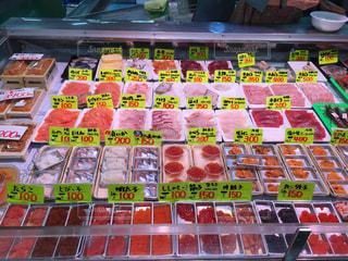 釧路の海鮮丼トッピングの写真・画像素材[1153376]