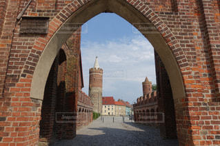 ドイツ ユーターボークの入口の写真・画像素材[1399978]