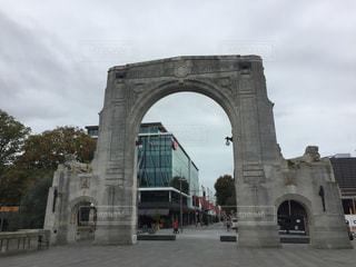 ニュージーランド・クライストチャーチの橋の写真・画像素材[2113334]