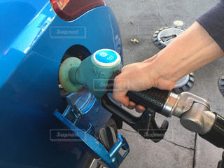 ニュージーランドのガソリンスタンドの写真・画像素材[2113376]